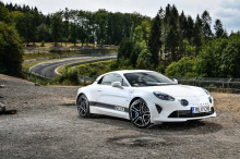 Alpine A110 Litchfield knows static front right