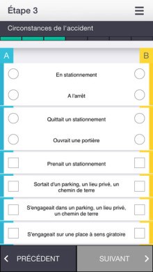 Application E-Constat Auto