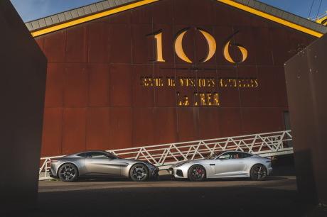Aston Martin Vantage vs. Jaguar F-profile