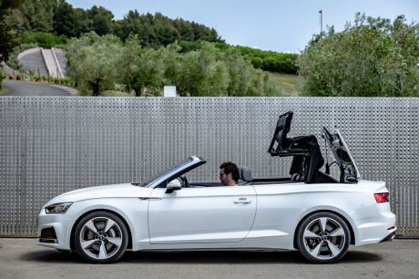 audi a5 cabriolet tfsi 252 2017 la symphonie du printemps l 39 argus. Black Bedroom Furniture Sets. Home Design Ideas