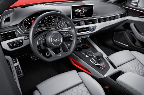 audi a5 coup 2016 l 39 argus d j bord de la nouvelle s5 en vid o l 39 argus. Black Bedroom Furniture Sets. Home Design Ideas
