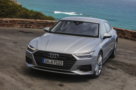 concurrence et bilan essai audi a7 sportback 2018 l 39 argus. Black Bedroom Furniture Sets. Home Design Ideas