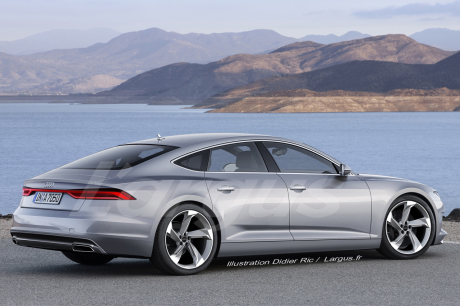 audi a7 sportback 2017 premi re apparition officielle l 39 automne l 39 argus. Black Bedroom Furniture Sets. Home Design Ideas