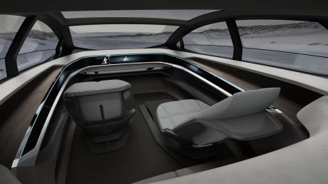 Audi Elaine : l'e-tron Sportback autonome