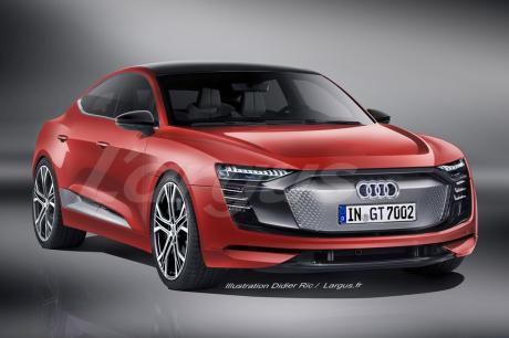 Audi prépare une GT quatre portes électrique — Officiel