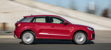 photo filé de audi q2 tdi