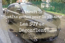 Collectif la ronce action anti-suv tutoriel Audi Q5