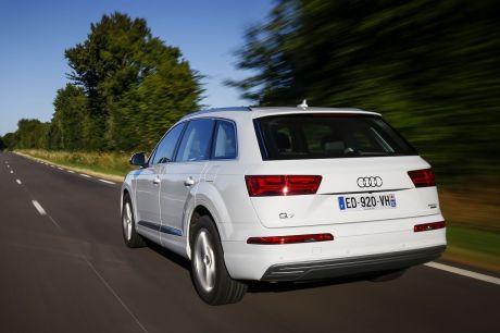 essai audi q7 e-tron : l'hybride diesel fait de la résistance - l'argus