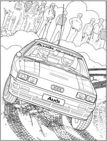Dessins Automobiles A Imprimer Faites Le Plein De Modeles A Colorier