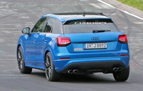audi sq2 en essai sur le n rburgring l 39 argus. Black Bedroom Furniture Sets. Home Design Ideas