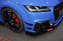 Audi TT RS Performance Parts bleu nogaro bouclier avant