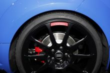 Audi TT RS Performance Parts bleu nogaro jante 20 pouces