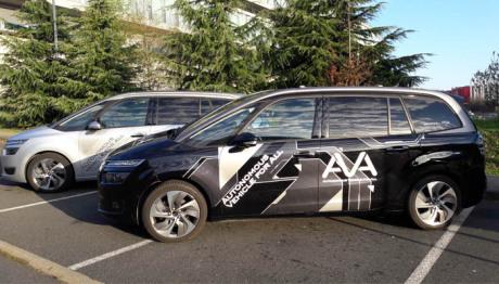 Les voitures autonomes de PSA testés par des conducteurs lambda