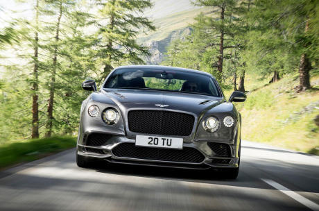 Bentely Continental Supersports detroit 2017