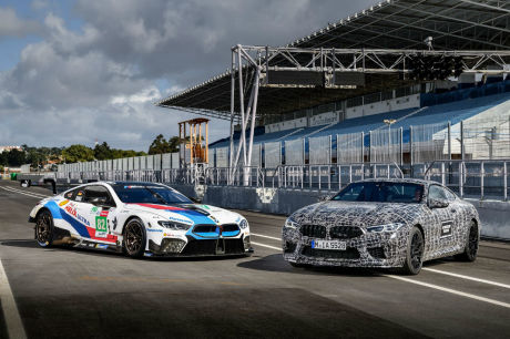 La future BMW M8 entre en production