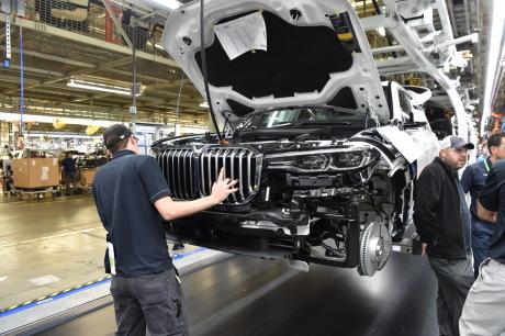 BMW X7 usine d'assemblage Spartanburg Caroline du Nord