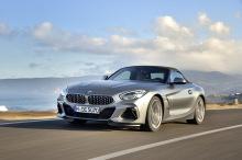 BMW Z4 gray lane front left