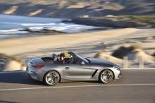BMW Z4 gray filé, © right