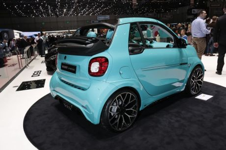 Brabus Ultima 125 Smart salon de Genève 2017