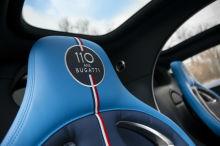 bugatti chiron sport 110 years