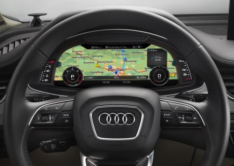 Ces 2015 Audi D 233 Voile L Habitacle Du Nouveau Q7 L Argus