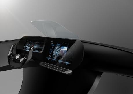 VW 3-D Active Info Display