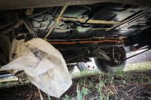 bolloré bluecar wreck without battery