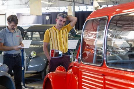 CitroÃ«n 2CV Fourgonnette 1967 vue arriÃÃÂ¡re