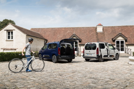 Citroën Berlingo XL et Citroën Berlingo M vue arriÚre