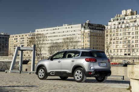 Citroën C5 Aircross Live gris statique arriÚre