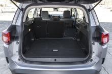 Citroën C5 Aircross Live gris coffre siÚge rabattu