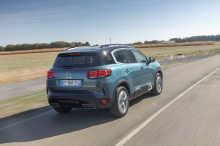 Citroen C Aircross blue green Dolly back re re re re
