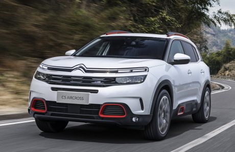 Citroën C5 Aircross salon shanghai 2017