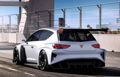 Plus de 400 ch électriques — Cupra e-Racer