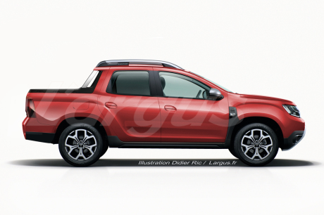 dacia duster oroch le nouveau duster en version pick up en europe l 39 argus. Black Bedroom Furniture Sets. Home Design Ideas
