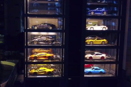 Un distributeur automatique de voitures — Singapour