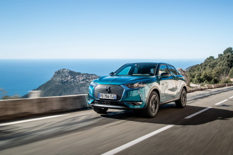 DS3 Crossback 2019 by the sea