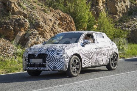 DS 3 Crossback camoufllage