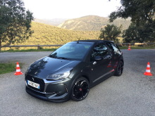 nouvelle DS3 performance statique avant