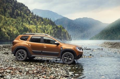 Dacia Duster profile