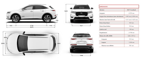 dimensions ds 7 crossback