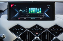 DS3 Crossback E-Tense The first screen consumption