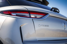 DS3 Crossback E-Tense The first gray hatchback logo