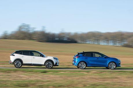 Essai comparatif avec les SUV Ford Puma et peugeot 2008