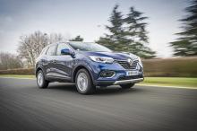 Renault Kadjar bleu travelling avant
