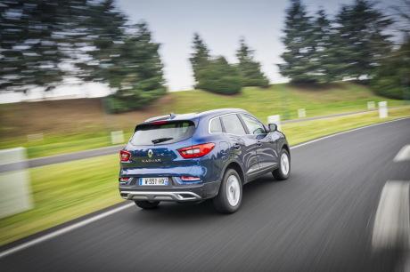 Renault Kadjar blue 2019 Wave Tracking rear right