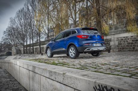Renault Kadjar blue 2019 Wave static rear left