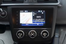 Renault Kadjar screen R Link 2