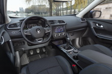 Renault Kadjar 2019 dashboard