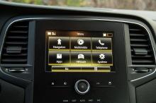 Renault Megane Zen gray 7-inch screen
